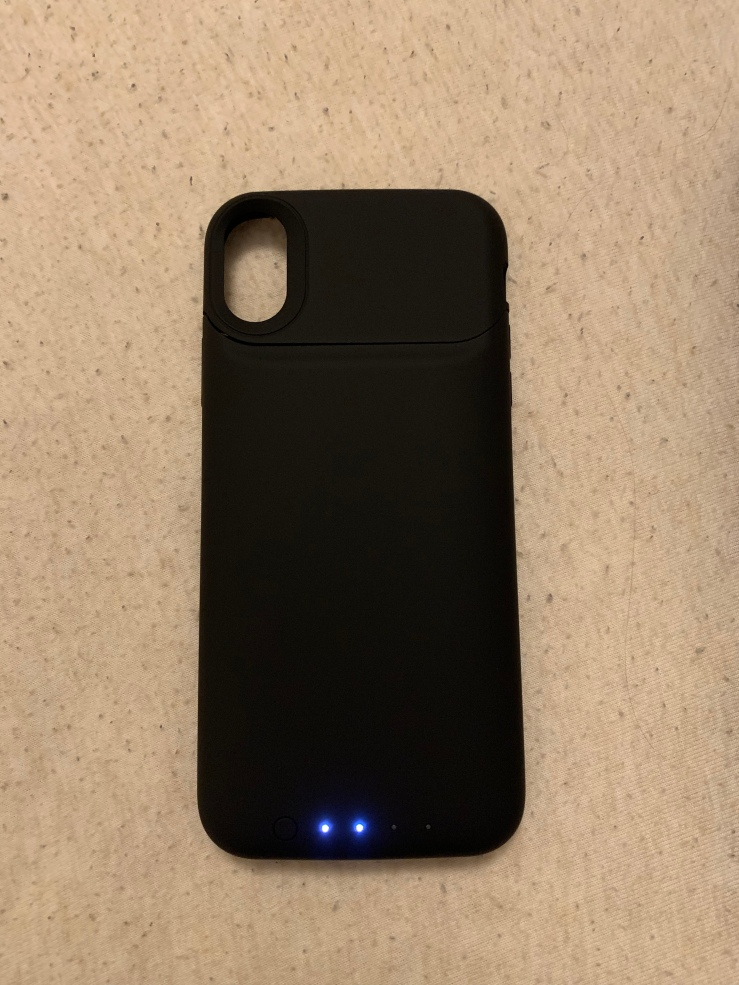 promo code 94466 7c316 mophie Juice Pack for the iPhone X – Review – The Mealy Apple